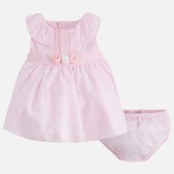 Vestido bebe niña plumeti 1822 Mayoral