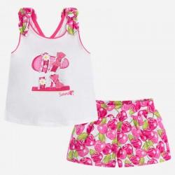 Conjunto niña shorts 3228 Mayoral