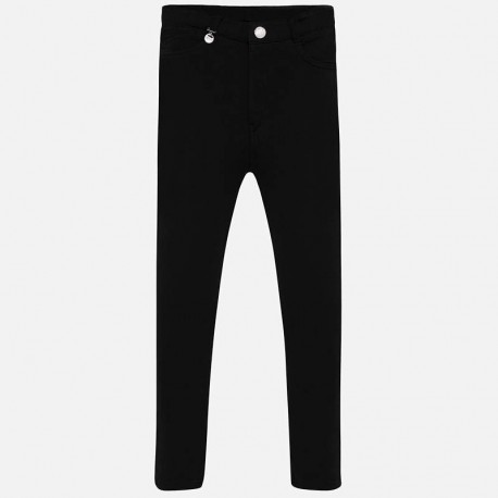Pantalon niña negro 588 Mayoral