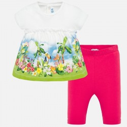 Conjunto bebe niña leggings 1761 Mayoral