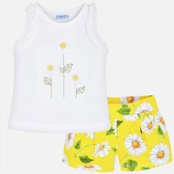 Conjunto shorts niña 3287 Mayoral